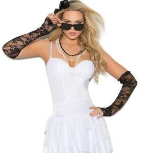 Rock Star MADONNA 6 pc. Costume by Elegant Moments